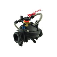 irrigation solenoid valve with hand switch