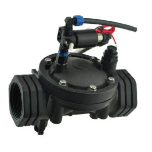 agricultural water valve with 3 way solenoid