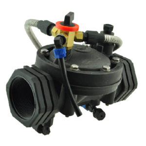 irrigation valve with hand switch